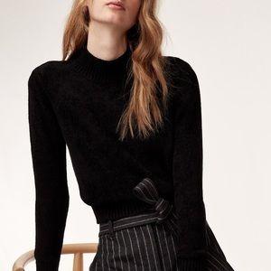 Aritzia Corteta Sweater in Black